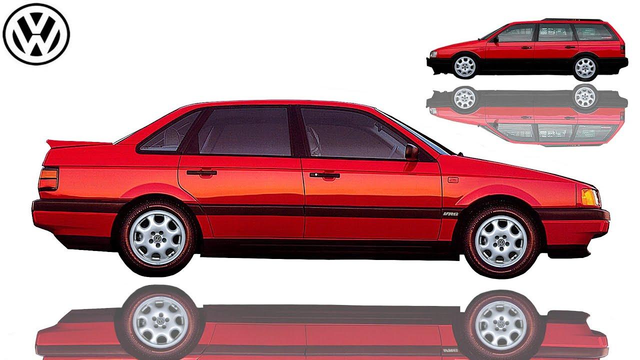 1991 volkswagen passat vr6 b3 typ 35i sedans. Black Bedroom Furniture Sets. Home Design Ideas