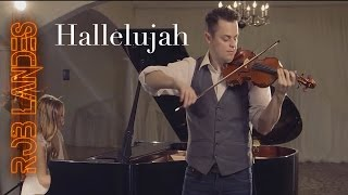 Hallelujah Violin Looping One Take By Rob Landes And Aubry Pitcher