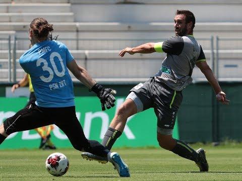 Böde még mindig tank – védővel a nyakában szerzett gólt