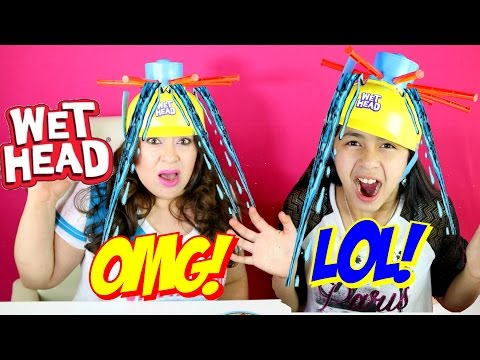 WET HEAD CHALLENGE!! B2cutecupcakes