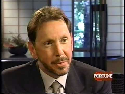 Oracle's Larry Ellison on CNN Fortune