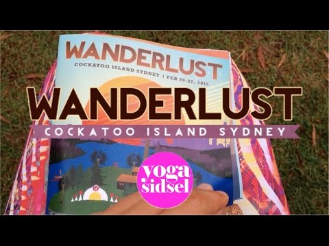 Fun times at Wanderlust Festival 2015 in Sydney