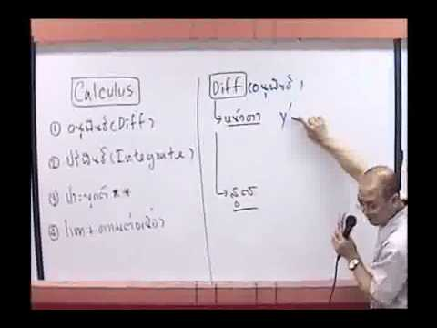 Calculus แคลคูลัส ม.6 [1-4] By www.tutoroui-plus.com
