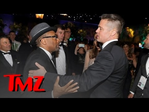 Brad Pitt & Spike Lee Are 12th Cousins? klip izle