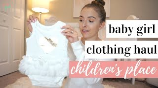 Baby Girl Summer Clothing Haul 2018 ☀️💕 | The Children's Place | 6-9 Months
