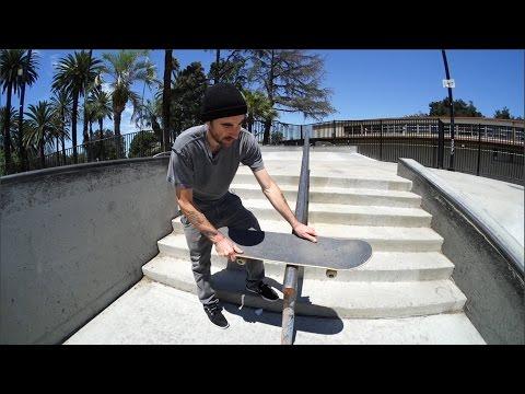 X Games Trick Tips - Billy Marks - Kickflip Boardslide