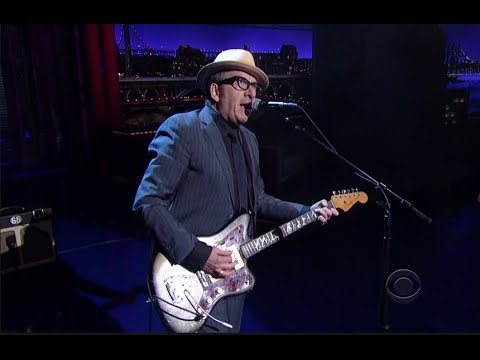 Elvis Costello / David Letterman supercut
