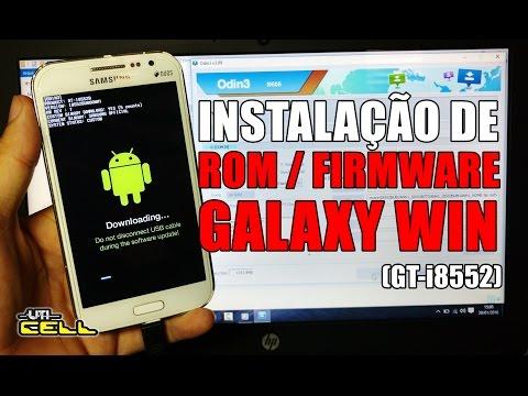 Instalação da Rom/Firmware oficial no Samsung Galaxy Win (GT-I8552) #UTICell