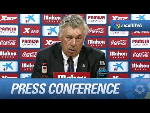 "Ancelotti: ""For us, it was important keeping a clean sheet"" - HD"