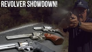 Revolver Showdown! Colt Python vs. S&W L frame vs. Ruger Speed Six| Jerry Miculek