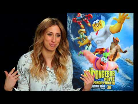 Stacey Solomon Interview - The Spongebob Movie Sponge Out Of Water