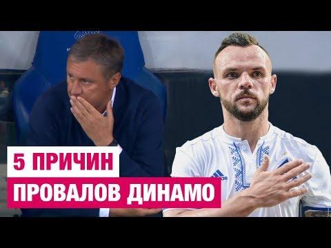 Динамо завязывай! 5 причин провалов Динамо Киев