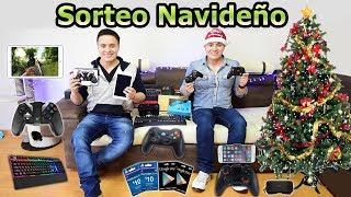 ¡¡GRAN SORTEO NAVIDEÑO!! TABLET, GAMEPADS, TECLADO GAMING, GEMAS CLASH ROYALE, GAFAS VR Y +