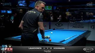 2017 US Open 8-Ball: Laaksonen vs Hohmann