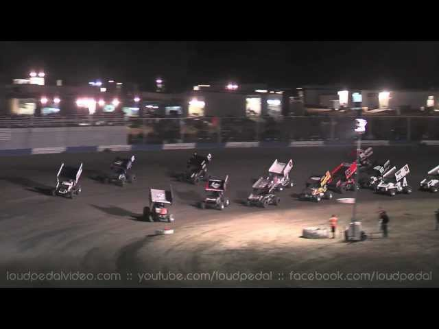 Kings Speedway 10-13-12 :: King of the West Sprint Cars