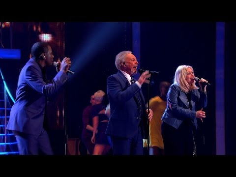 Tom and his Team perform 'Dancing In The Street' - The Voice UK 2014: The Live Semi Finals - BBC One