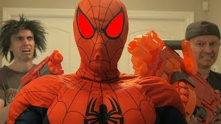 Nerf Evil SPIDERMAN!