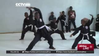 Chinese martial art Kung Fu gaining popularity in the Senegal