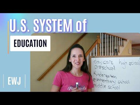 U.S. System Of Education - English Language Notes 2