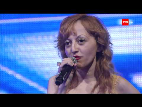 TVN HD Factor X Chile Raquel Castillo La chica de las 5000 imitaciones