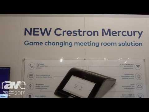 ISE 2017: Crestron Exhibits Crestron Mercury Meeting Room Solution