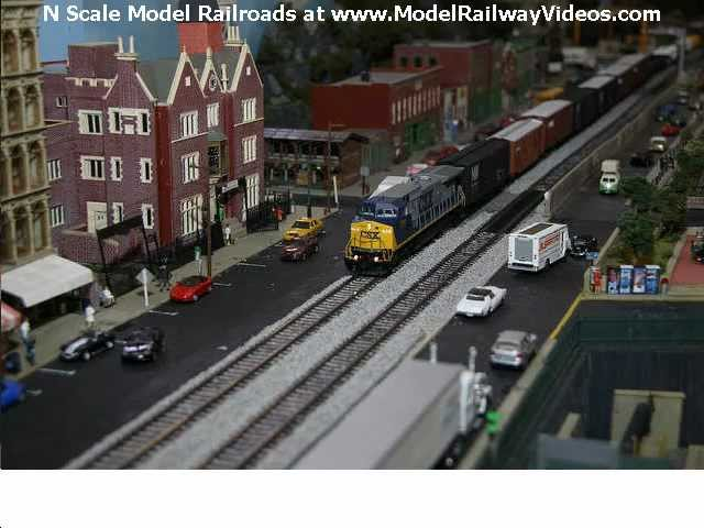N Scale Model Railroads