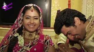 On location of TV serial 'Sasural Simar Ka' 'Roli' Jhumki) & Siddhanth get married