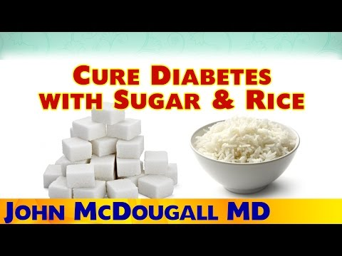 Cure Type 2 Diabetes With Sugar & White Rice - Dr. McDougall