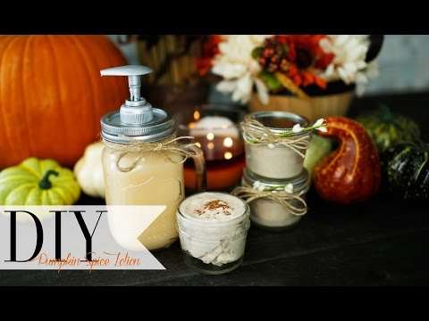 DIY Fall Pumpkin Spice Lotion | ANNEORSHINE
