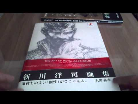 The Art of Metal Gear Solid - Art Book Collection (Review)