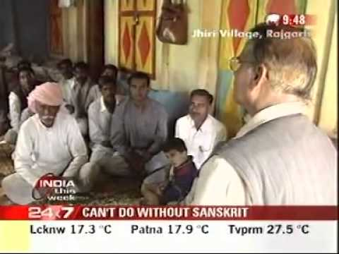 Sanskrit Is Not Dead  Yet! Sanskrit Village  Jhiri, Madhya Pradesh video