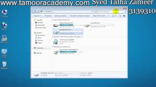 Download How To Install Windows 7 Without USB And DVD Room In Urdu By Syed Talha Zameer 3Gp Mp4