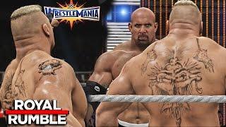 Download WWE 2K17 Royal Rumble 2017 - Brock Lesnar Wins 30 Man Royal Rumble Match! 3Gp Mp4