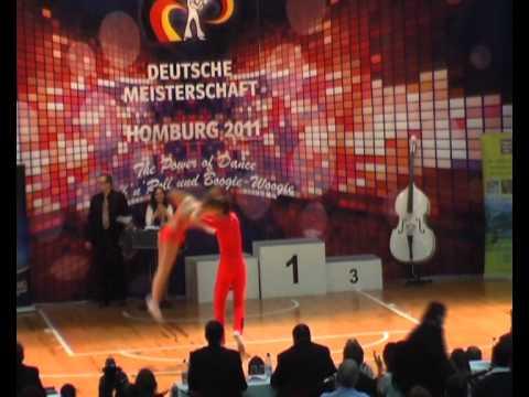 Coletta Braun & Philipp Seidenschwarz - Deutsche Meisterschaft 2011