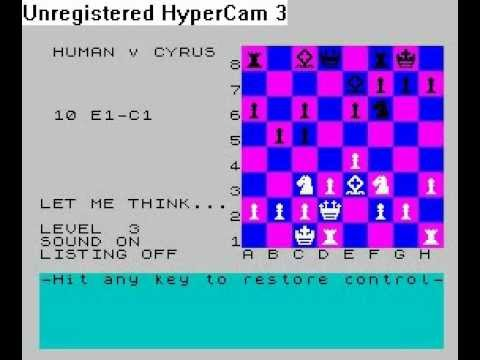 Cyrus IS-Chess (ZX Spectrum)