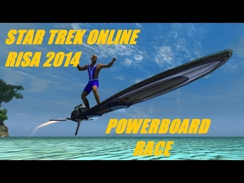 Star Trek Online Risa 2014 Powerboard Race