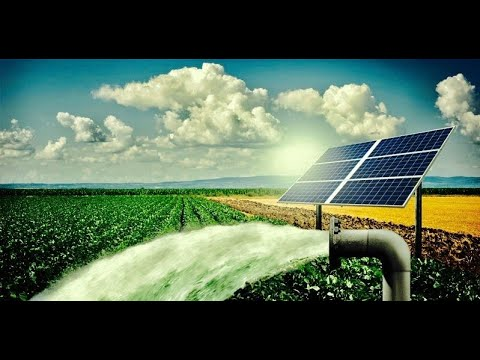 Water pump powerd by Solar Panels