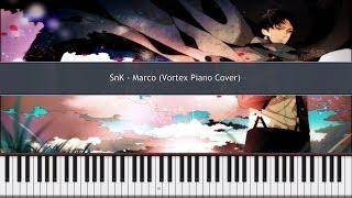 Shingeki No Kyojin - Marco / vc-pf20130218 Piano Cover TUTORIAL