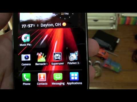 Unboxing the Used Samsung Droid Charge off Ebay
