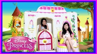 I MAILED MYSELF to KAYCEE & RACHEL in WONDERLAND and it WORKED! Pretend Play PRINCESS CASTLE BEAUTY