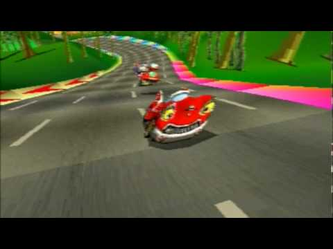 Motor Toon Grand Prix - Intro - PSX
