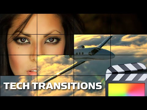 XEffects Tech Transitions for FCPX Final Cut Pro X