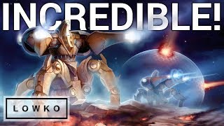 StarCraft 2: INCREDIBLE Protoss Micro!
