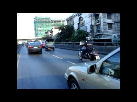 Motorbike Taxi Ride in Bangkok!!! to Pantip Plaza