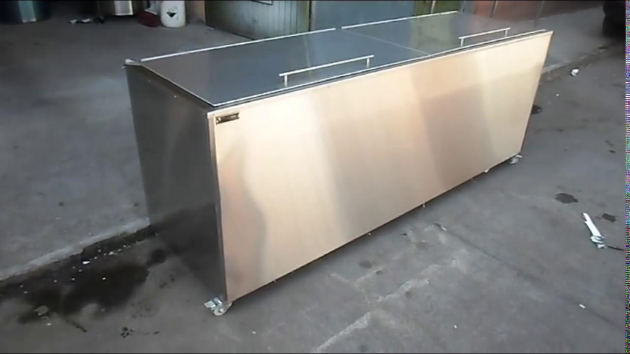 Hielera en acero inoxidable youtube - Laminas de acero inoxidable para cocinas ...