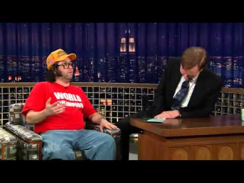 The World Champion Judah Friedlander on Conan 2/9/09