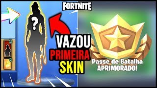 PRIMEIRA SKIN da TEMPORADA 10 e NOVO PASSE do FORTNITE!