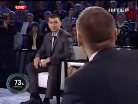 Юрій Михальчишин - у програмі Шустер LIVE 20.09.2013
