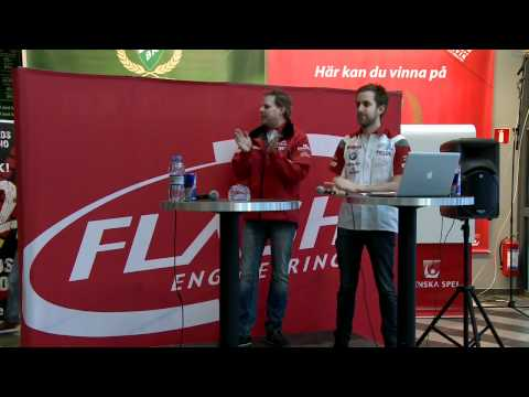 Presskonferens - Colin Turkington kör för Flash Engineering