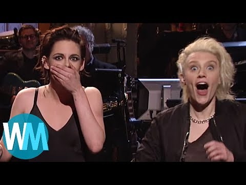 Top 10 Celebs Who Have Accidentally Dropped the F-bomb on SNL Subscribe: http://goo.gl/Q2kKrD // Have a Top 10 idea? Submit it to us here! http://watchmojo.com/my/suggest.php They don't call...